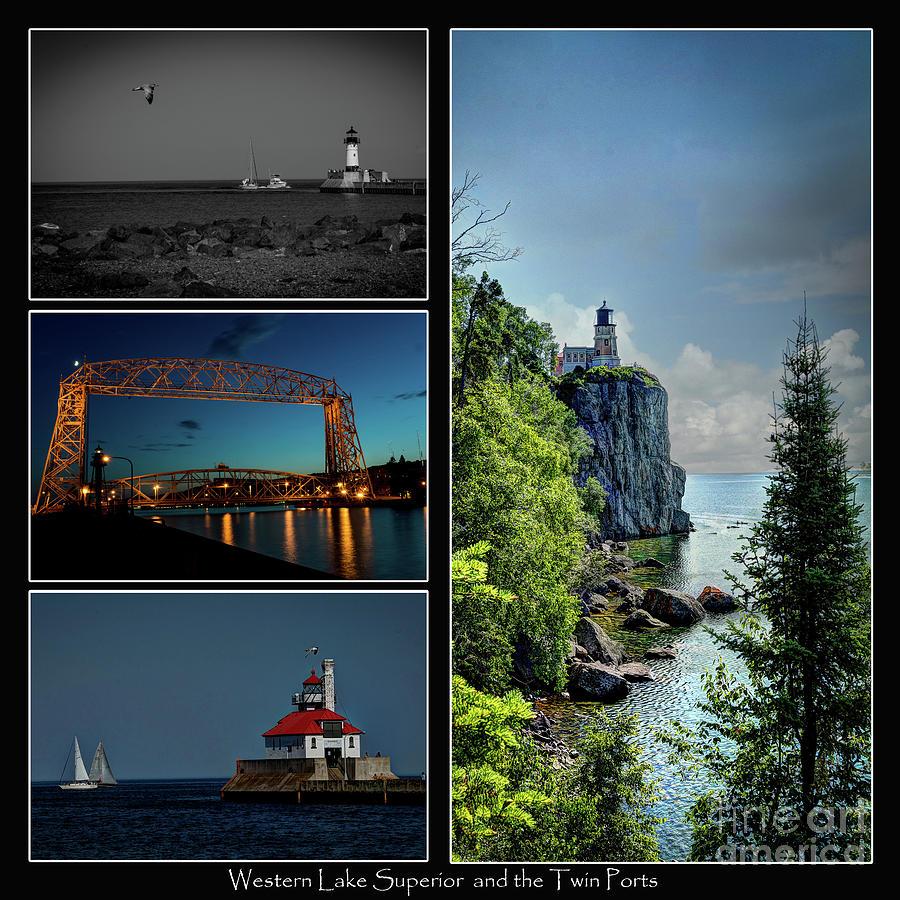 Lake Photograph - Western Lake Superior by Deborah Klubertanz