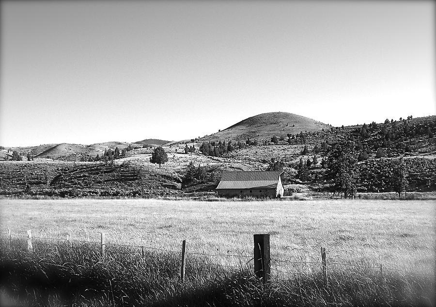 Barn Photograph - Western Landscape by Jennifer Addington