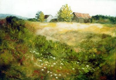 Western New York Painting by Helen Hickey