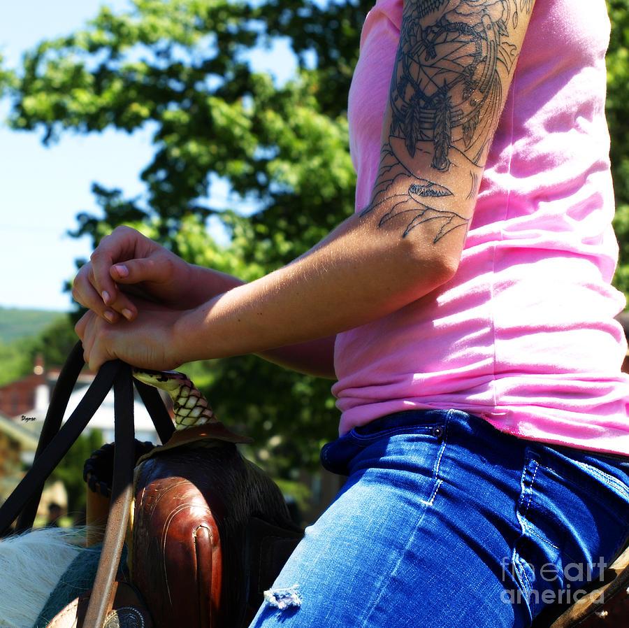 Women Photograph - Western Pink by Steven Digman