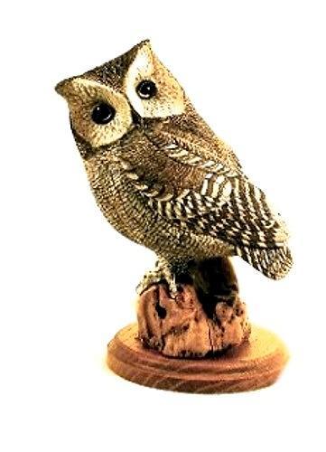 Sculpture Sculpture - Western Screech Owl by Peter Vaice