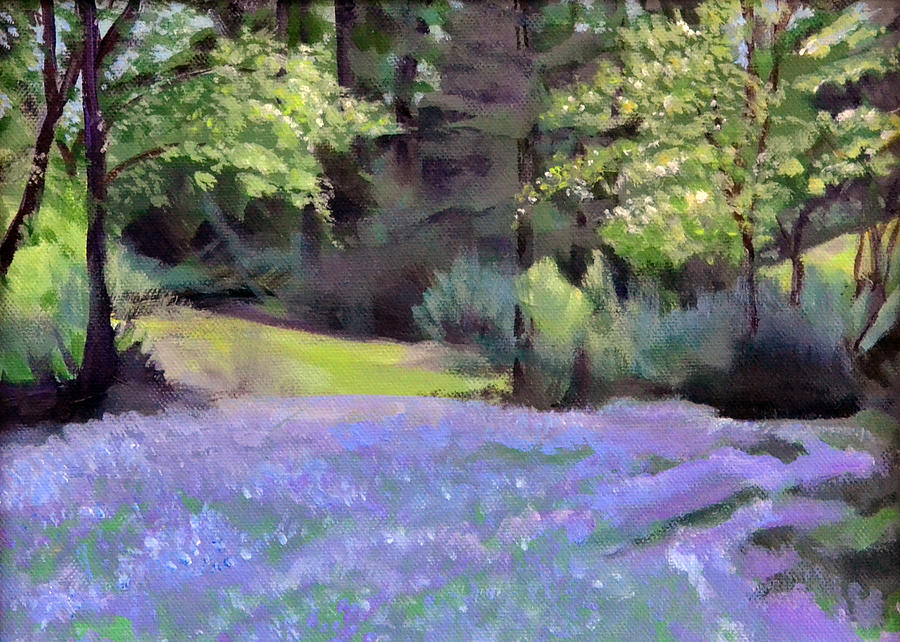 Camas Painting - Westleys Meadow by Mary Chant