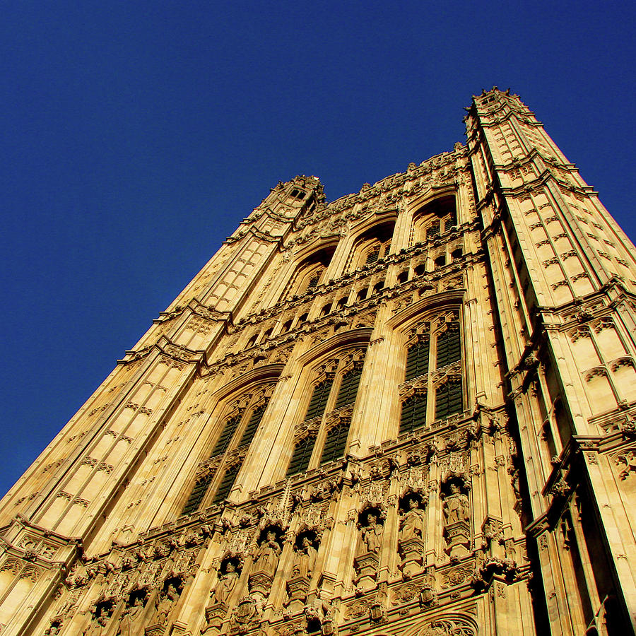 London Photograph - Westminster Palace, London by Misentropy