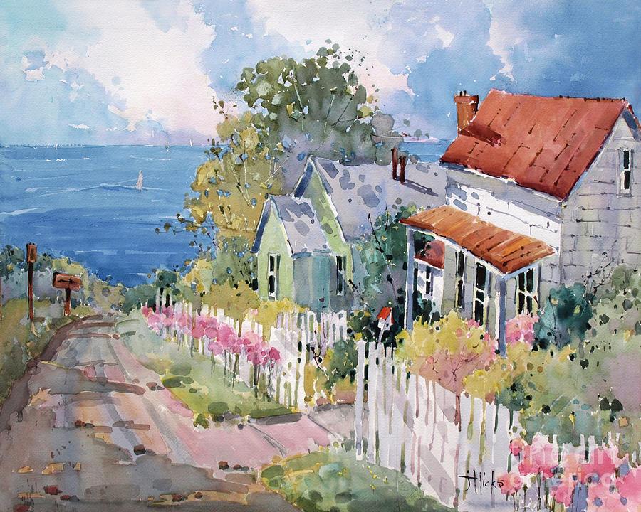 Westport By The Sea Painting by Joyce Hicks