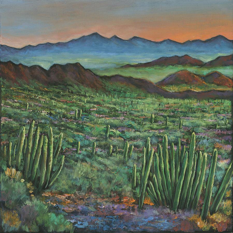 Arizona Painting - Westward by Johnathan Harris