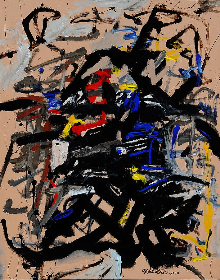 Abstract Paintings Painting - Westward Movement by Wayne Salvatore