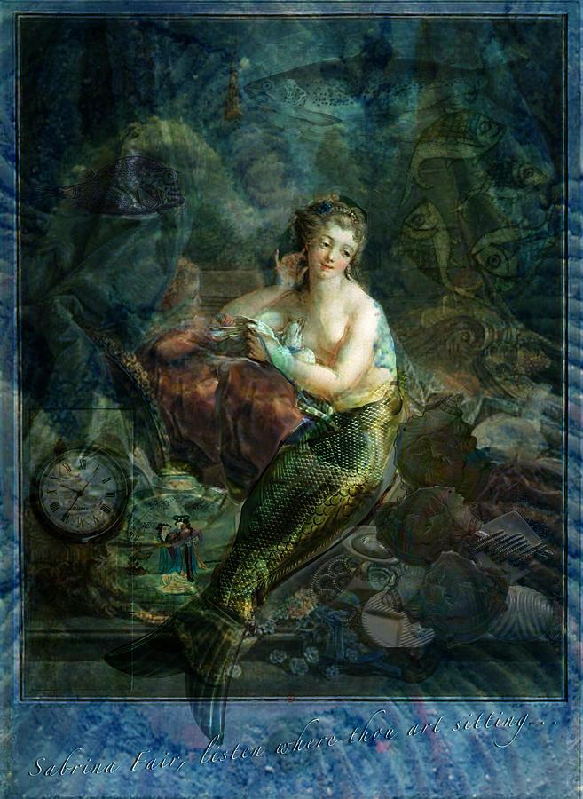 Molluscs Digital Art - Wet Magic by Sarah Vernon