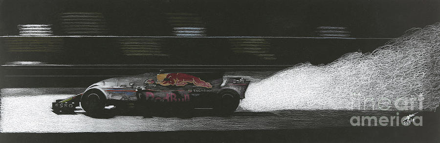 wet Red Bull F1 by Lorenzo Benetton