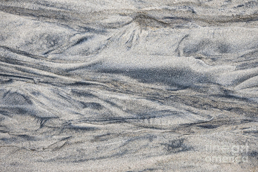 Sand Photograph - Wet Sand Abstract I by Elena Elisseeva