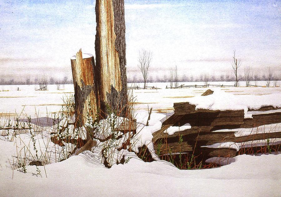 Wet Snow by Conrad Mieschke