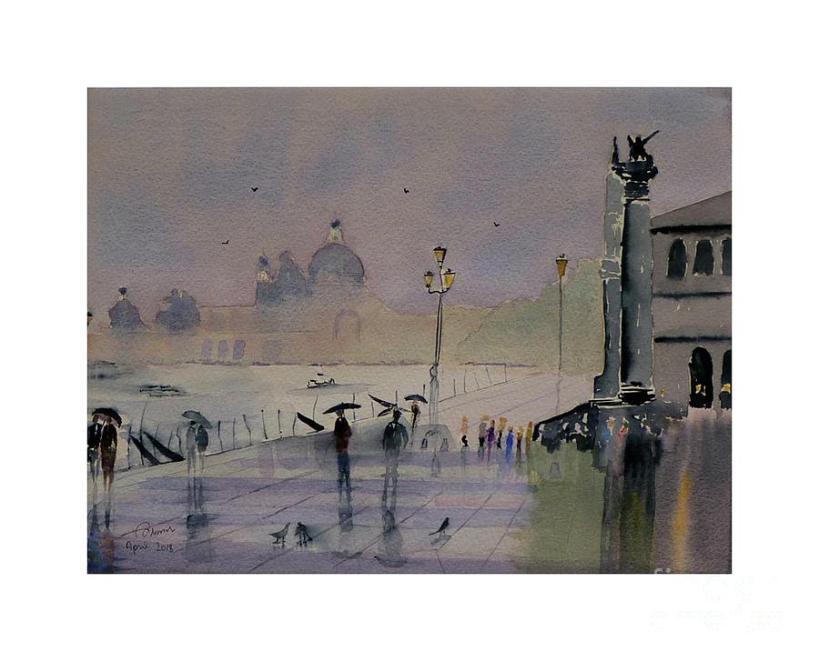 Wet Venice by Godwin Cassar