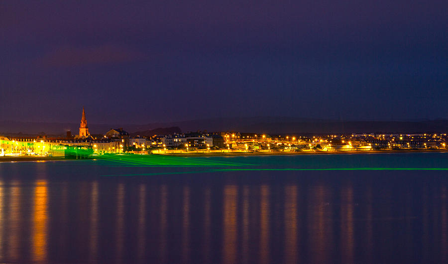 Weymouth Laser Nights Photograph