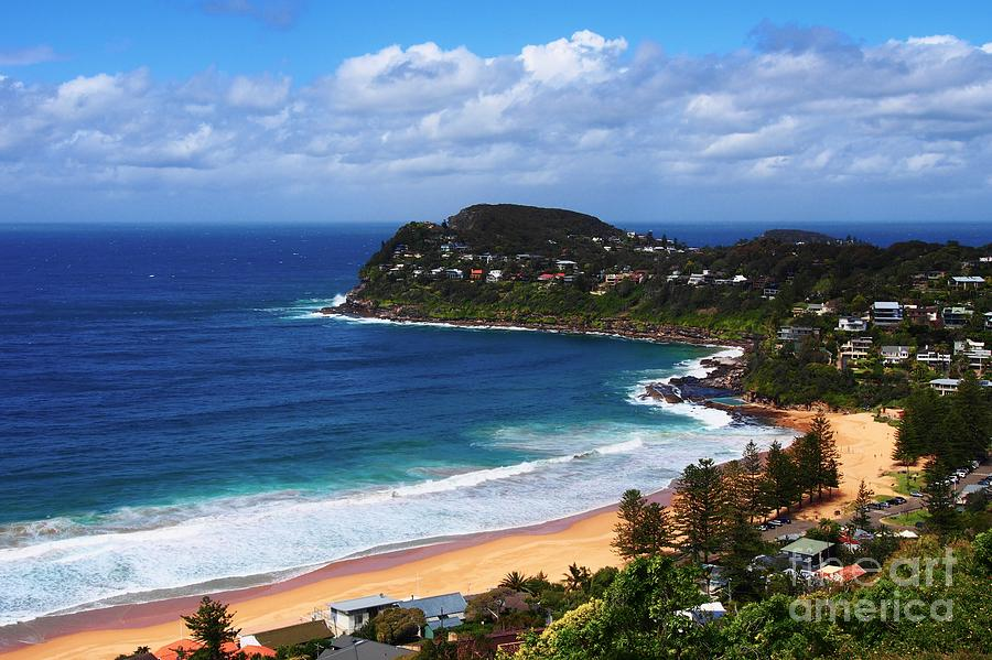 Whale Beach NSW by Ronald Rockman