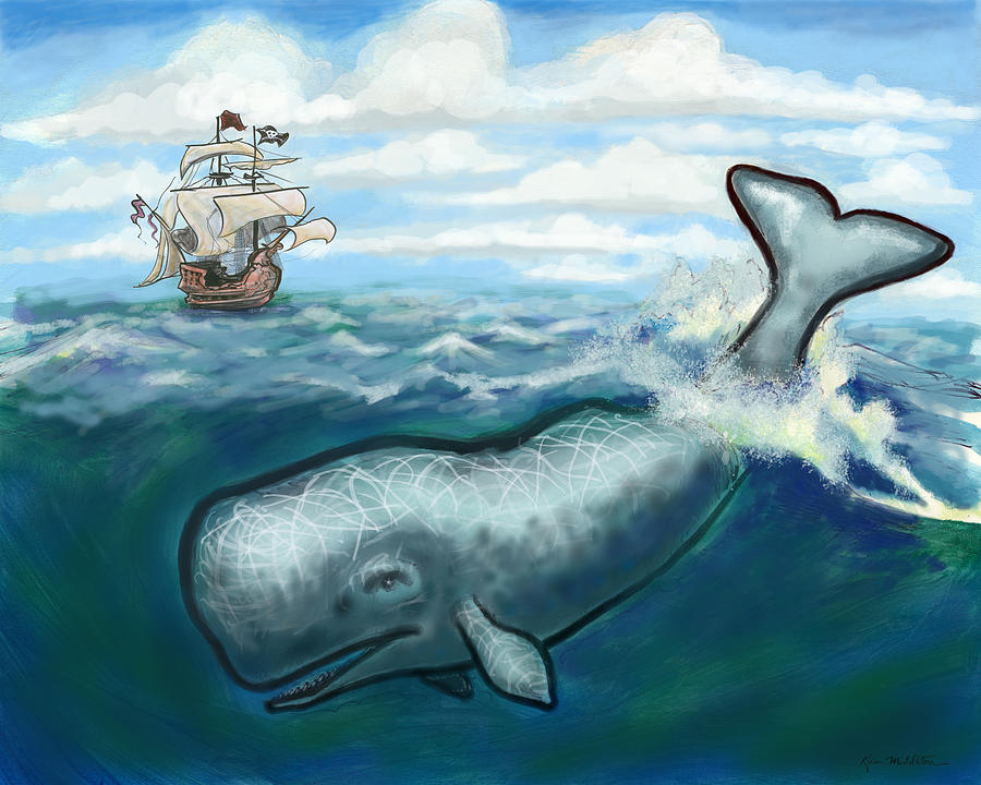 Whale Ho Digital Art