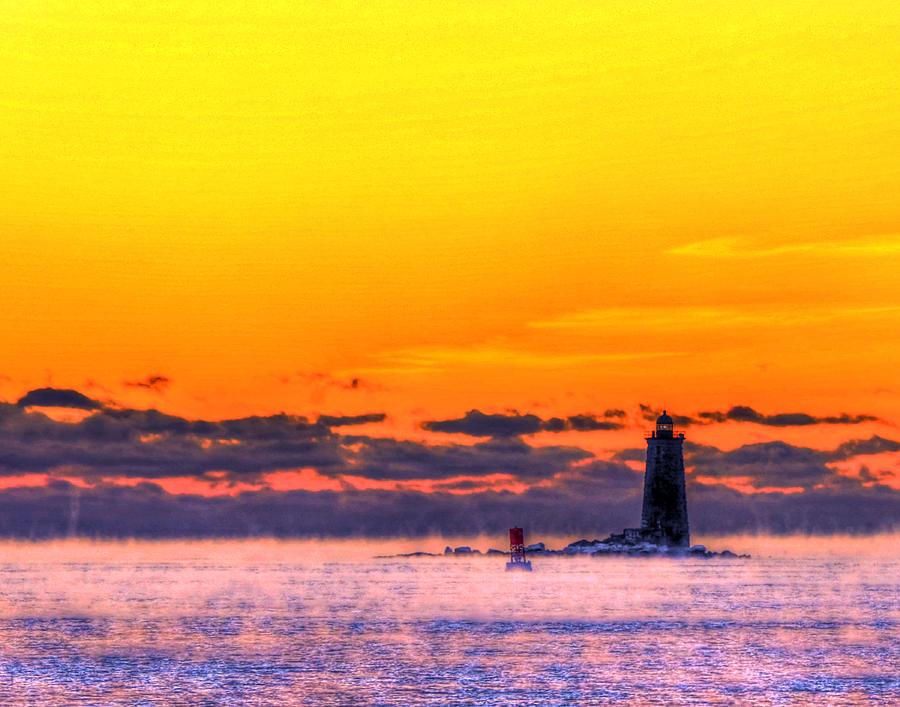 Whaleback Light 263 Photograph