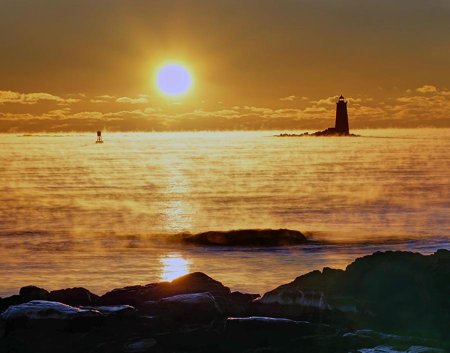 Whaleback Light 264 Photograph