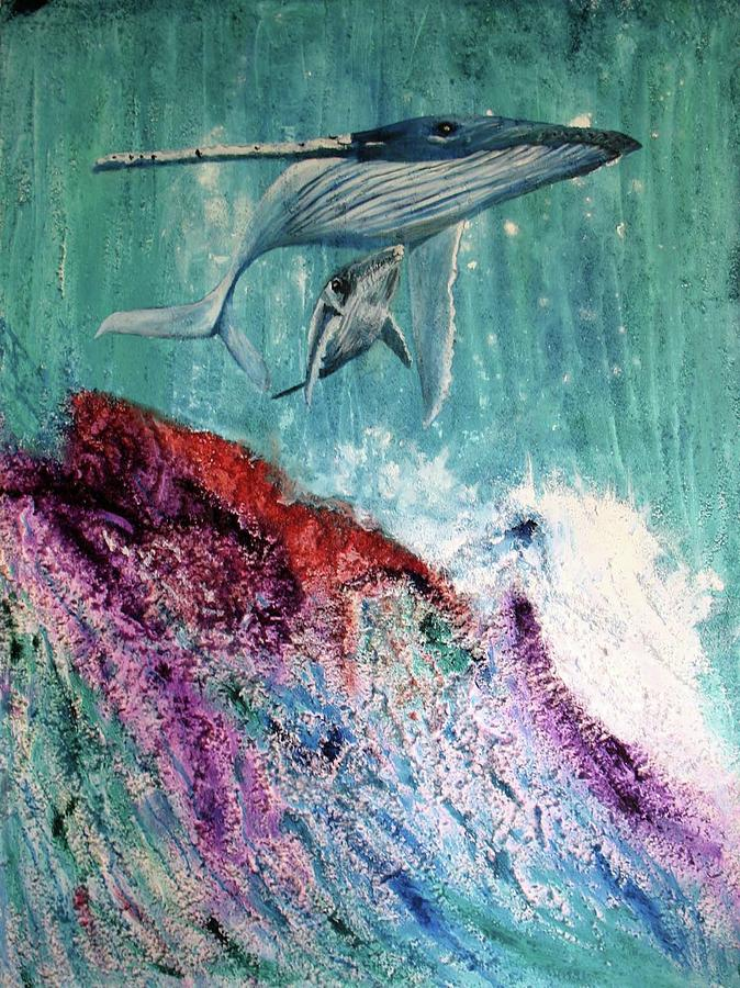 Whales by Toni Willey