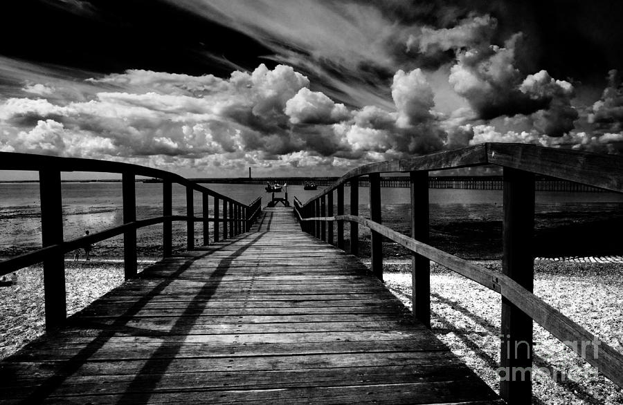 Wharf At Southend On Sea Photograph by Avalon Fine Art Photography