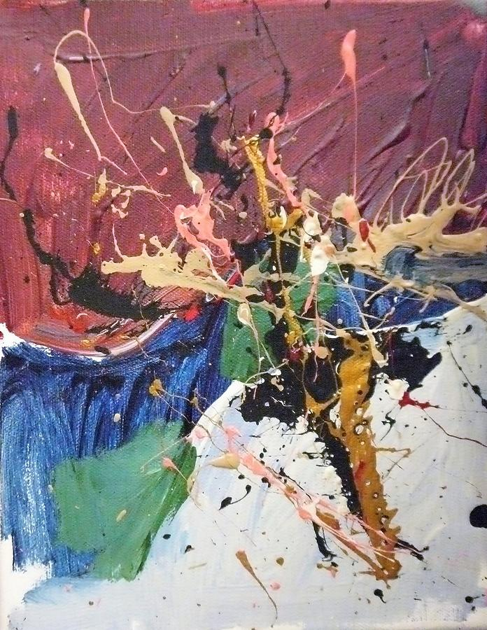 Abstract Painting - Wharlwind  by Jim Kieley