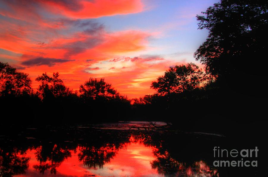 Abstract Photograph - What A Morning 2 by Robert Pearson