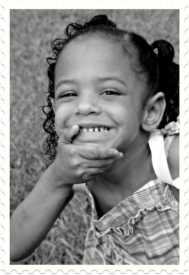 Portrait Photograph - What A Smile by Vanessa Reed