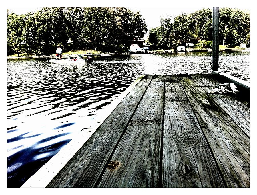 Lake Photograph - What A Way To Live by John McGarity