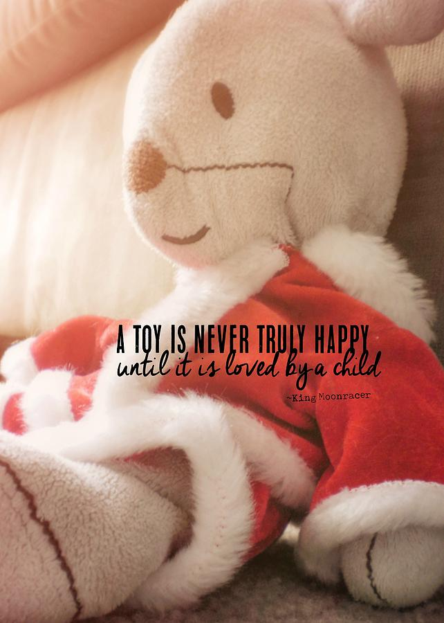 Toy Photograph - What Do You Wish Quote by JAMART Photography