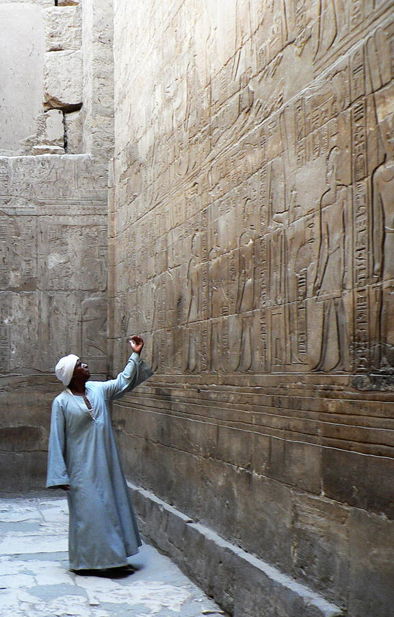Egypt Photograph - What Does It Mean by James Lukashenko