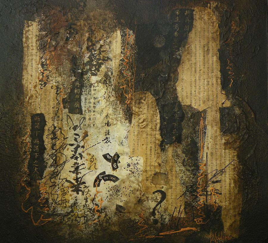 Mixed Media Painting - What Im Saying by Tara Milliken