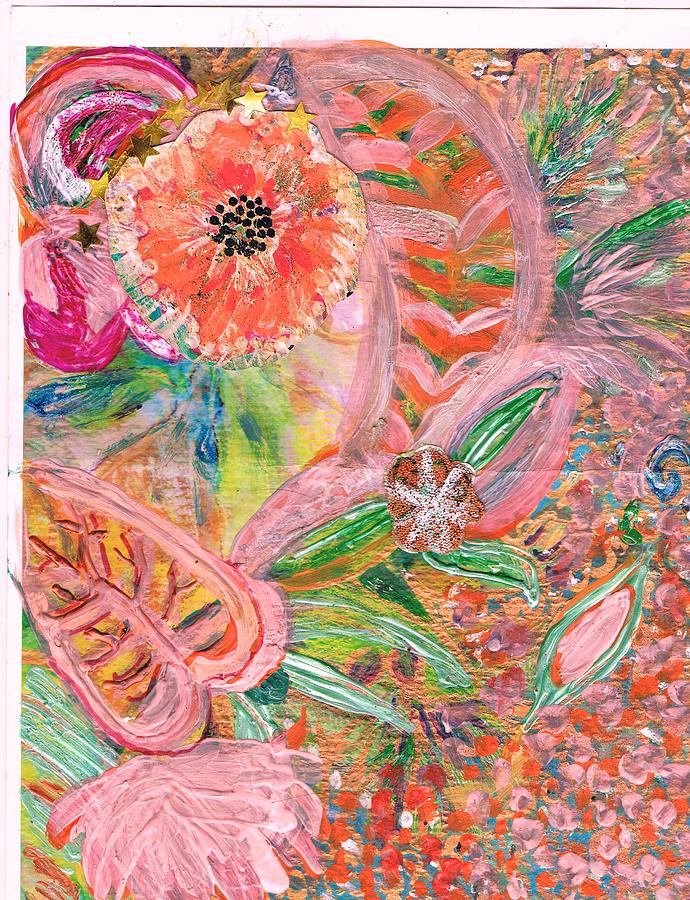 Acrylics Painting - What Makes You Happy by Anne-Elizabeth Whiteway