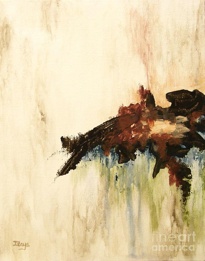 What Remains Painting - What Remains by Itaya Lightbourne