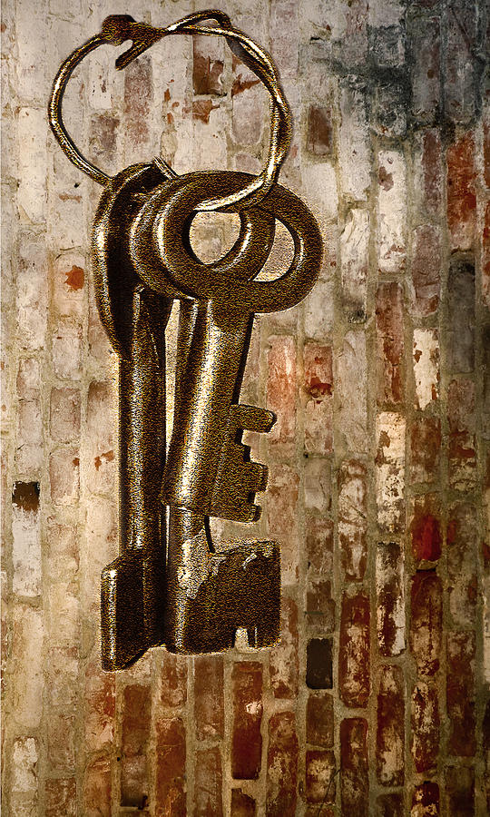 Antiques Photograph - What They Unlock by Charuhas Images