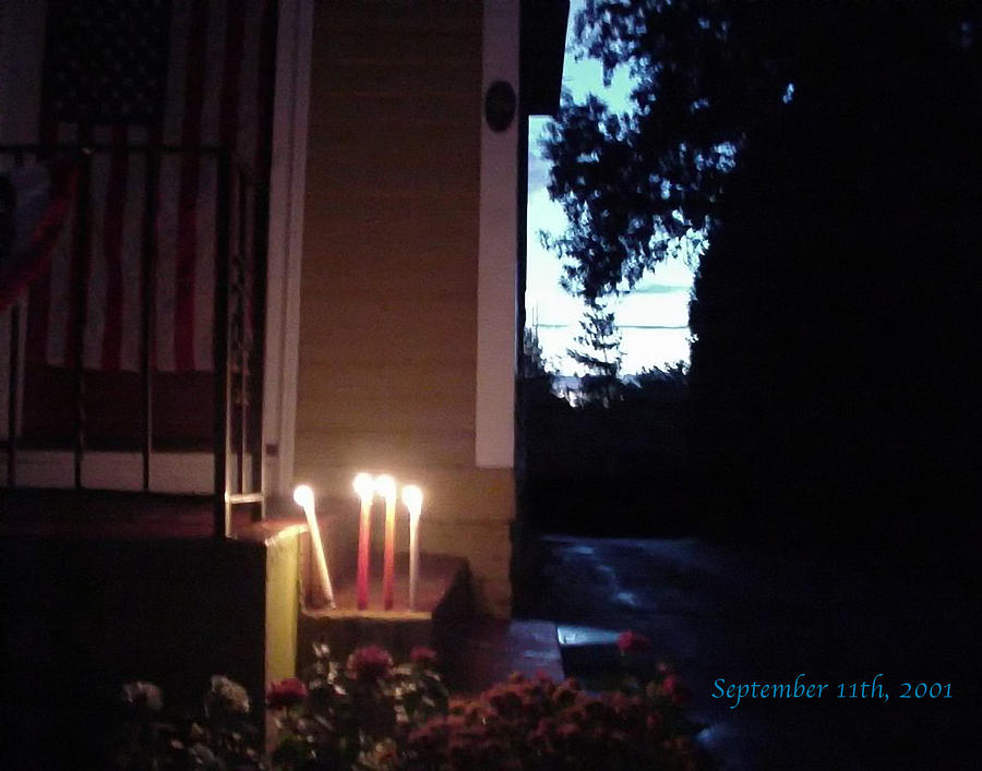 Candles Photograph - What We Could Only Do by Ross Powell
