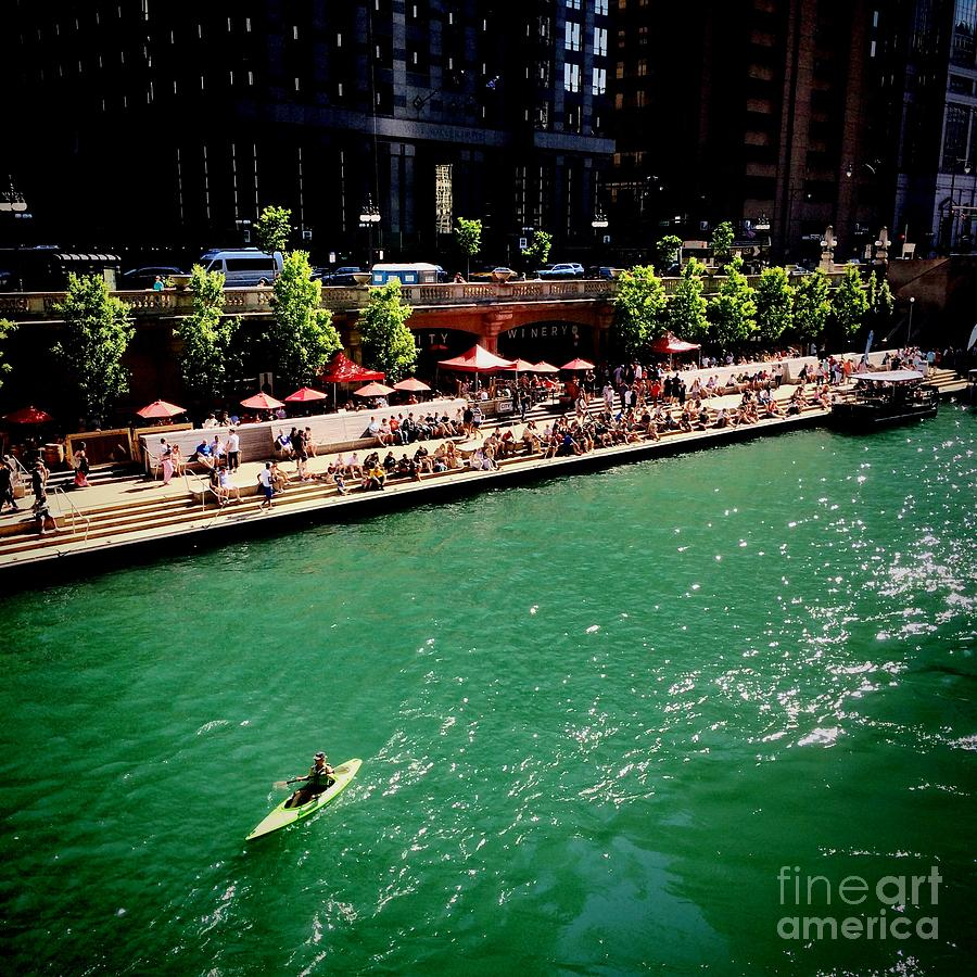 Midwest Photograph - Whatever Floats Your Boat by Frank J Casella