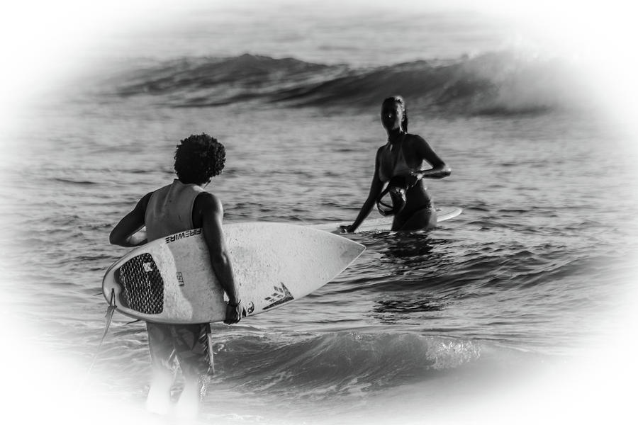 Whats Up Surfer Girl Photograph