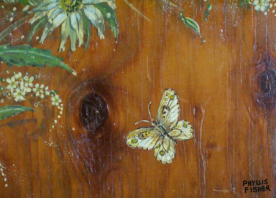 Wildflowers Painting - Wheat n Wildflowers II by Phyllis Mae Richardson Fisher
