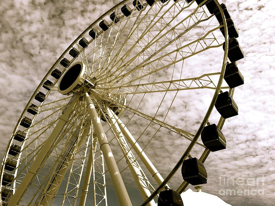 Wheels In The Wind Photograph by Trish Hale
