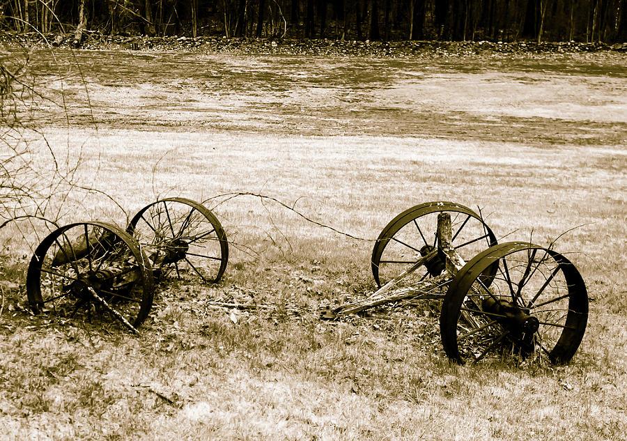 Wheels of the Past by Robert McKay Jones
