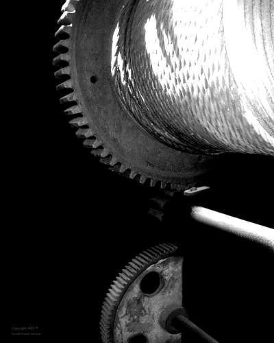 Photo Photograph - Wheels Of Time Nr.3 by Kenneth-Edward Swinscoe