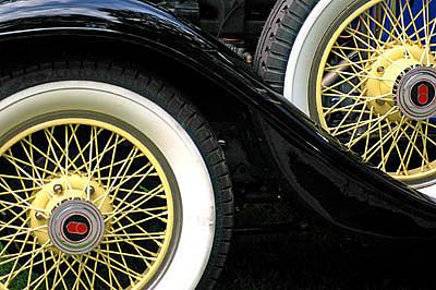 Car Photograph - Wheels by Thomas Dean