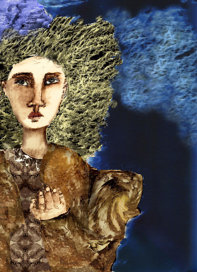 Female Mixed Media - When by Cynthia Richards