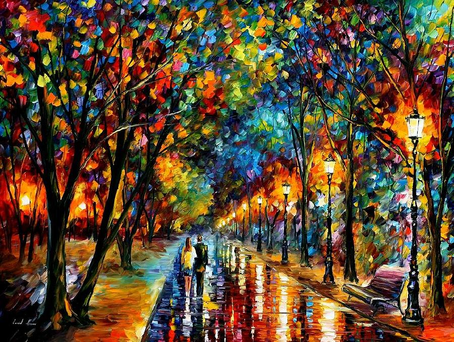 Landscape Painting - When Dreams Come True  by Leonid Afremov