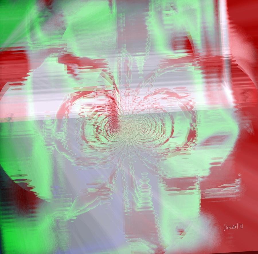 Fania Simon Digital Art - When Ears Dont Wanna Hear by Fania Simon