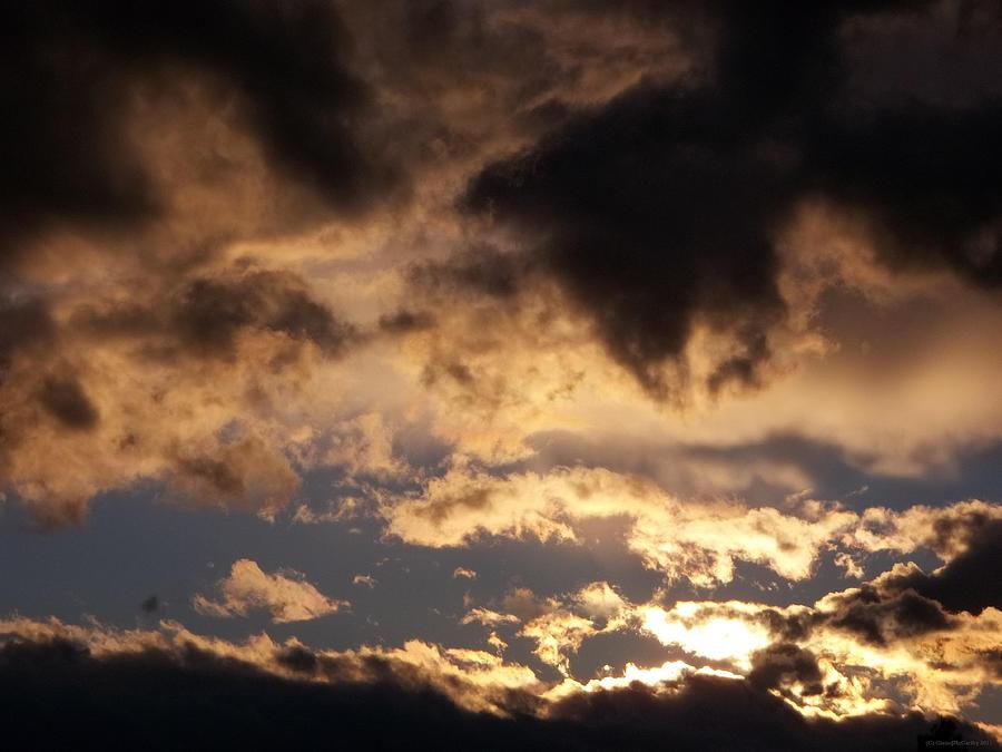 Clouds Photograph - When Heaven Speaks by Glenn McCarthy Art and Photography