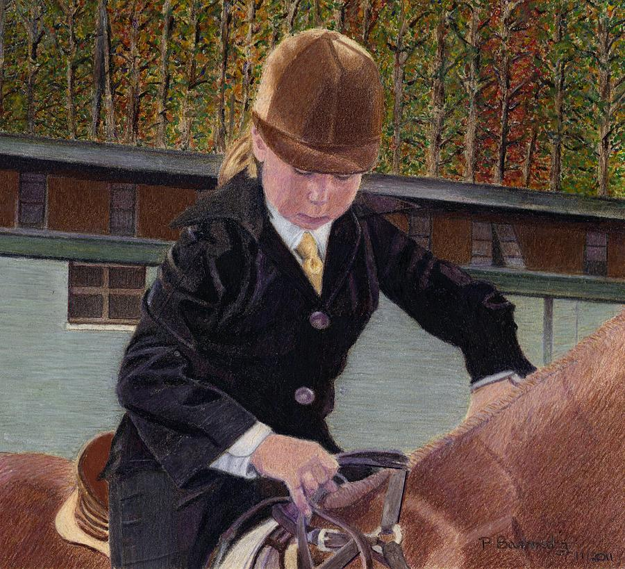 Horse Art Painting - When I was Young... by Patricia Barmatz