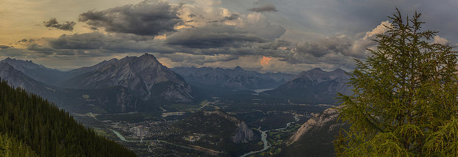 Panorama Photograph - When In Banff Canada by Angela A Stanton