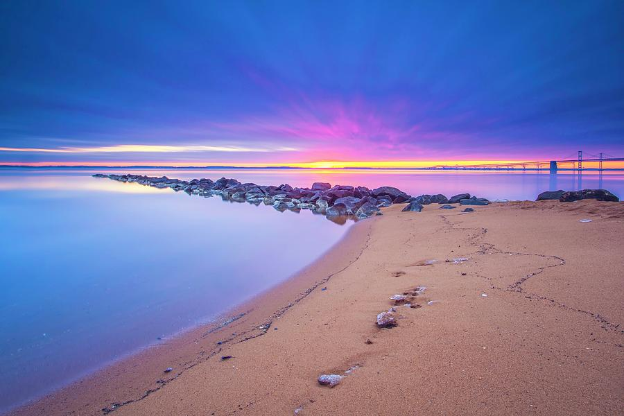 Sunrise Photograph - When It Feels Like The Worlds Gone Mad by Edward Kreis