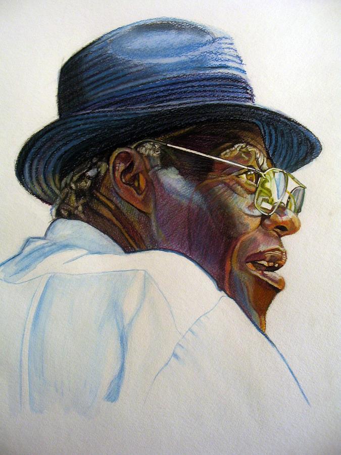 When Mr. Moses Speaks Drawing by Morris T Howard