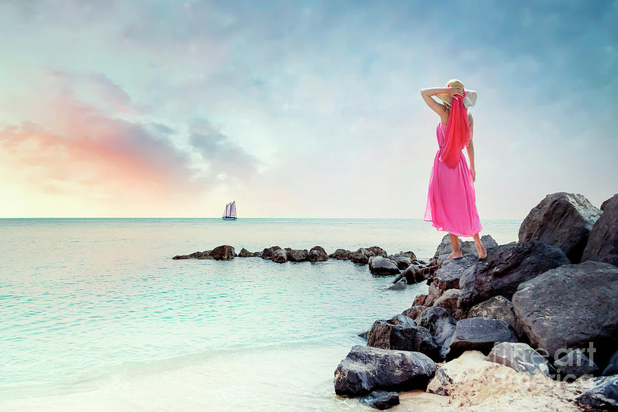 Kremsdorf Photograph - When My Dreamboat Comes Home by Evelina Kremsdorf