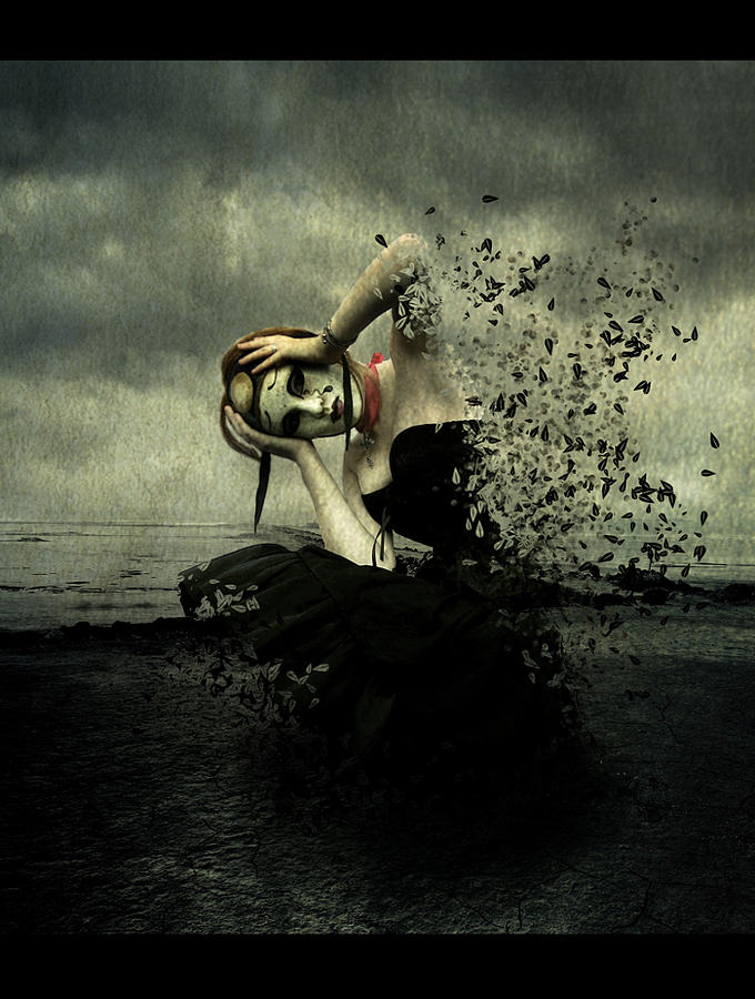 Manipulation Digital Art - When The Levee Breaks by Ozge Gurer